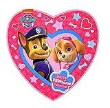 Paw Patrol Valentines Day Heart Box with Gummy Candy, 3.17 oz