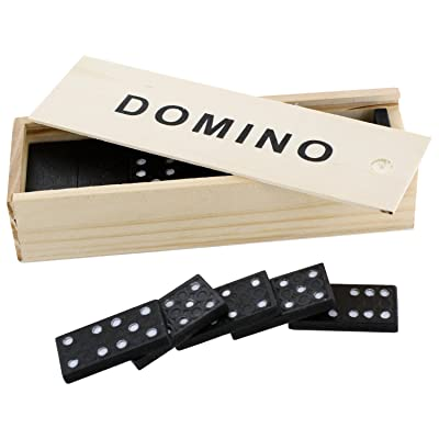 Wooden Dominos: Toys & Games