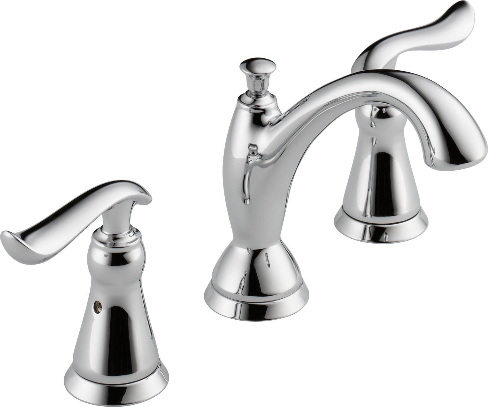 Delta Faucet 3594-MPU-DST Linden Two Handle Widespread Bathroom Faucet, Chrome by DELTA FAUCET