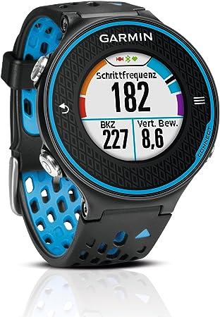 Garmin Forerunner 620 - Reloj de carrera con GPS, color negro / azul: GARMIN: Amazon.es: Deportes y aire libre