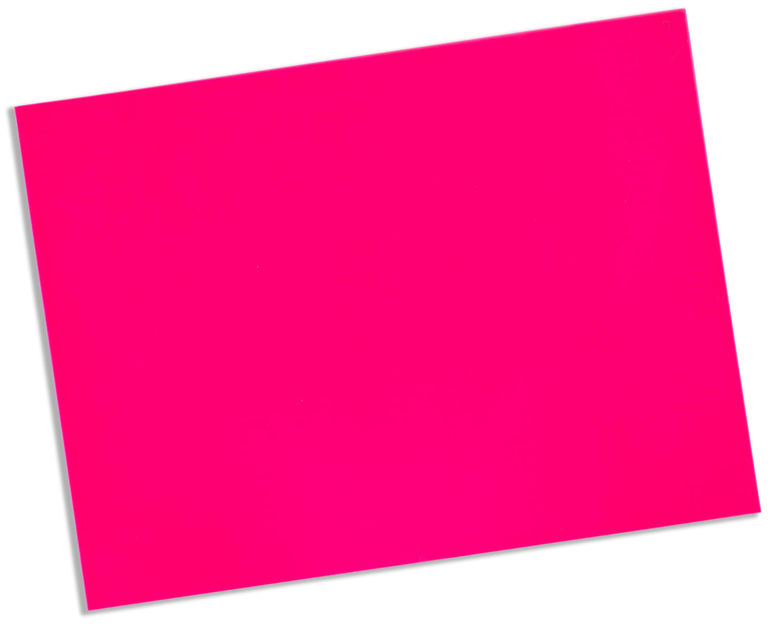 Cedarburg Rolyan Splinting Material Sheet, Aquaplast-T Watercolors, Hot Pink, 1/8'' x 18'' x 24'', Solid, Single Sheet