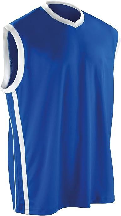 Spiro Camiseta de Tirantes para Baloncesto, de la Marca, Hombre, de Secado rápido: Amazon.es: Ropa y accesorios