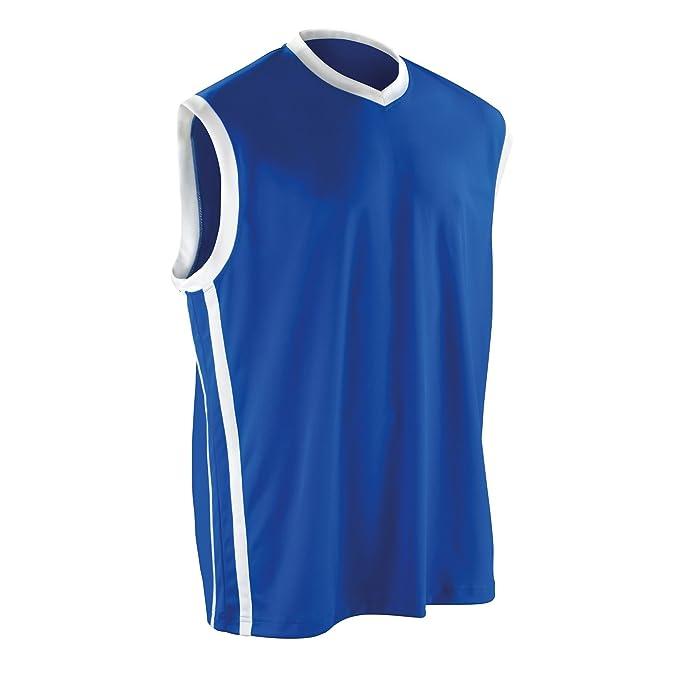 Spiro Camiseta de Tirantes para Baloncesto, de la Marca ...