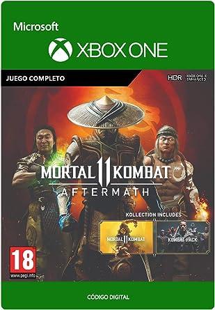 Mortal Kombat 11 Aftermath Kollection | Xbox One - Código de descarga: Amazon.es: Videojuegos