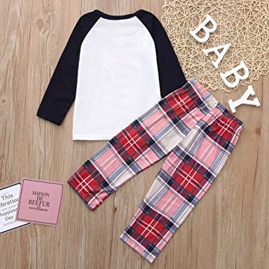 Amazon.com  GzxtLTX Christmas Family Matching Pajama Set Daddy Mommy and Me  Polar Bear with Plaid Printed New Year Gifts  Clothing 37ff4bad3