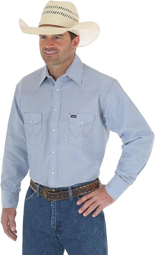 Wrangler Antique Blue Work Shirt