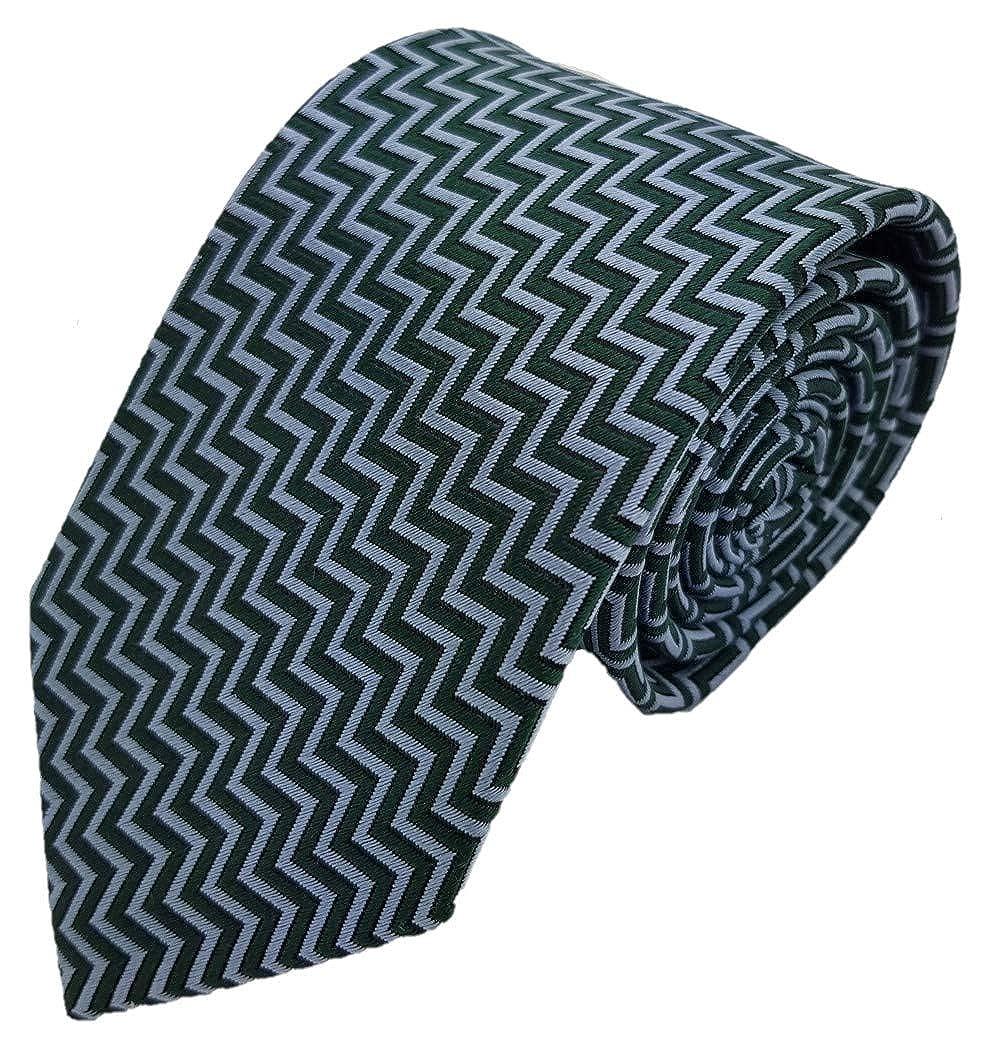 Silk Ties corbata de seda recuadro 7 cm