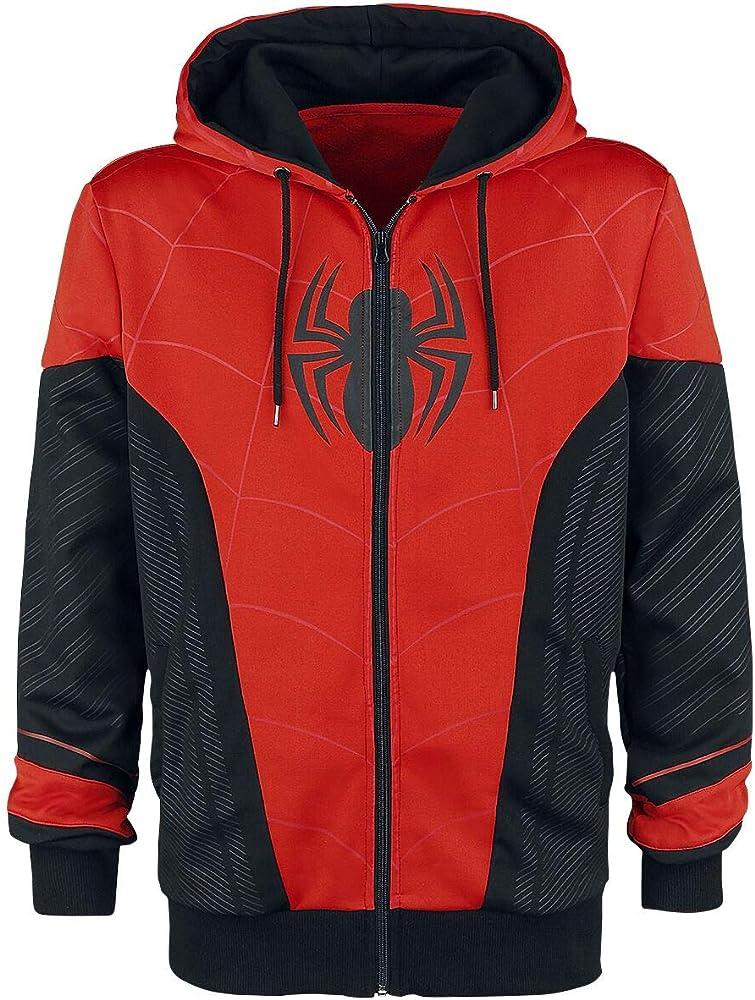 Spider-Man Red & Black Chándal Negro/Rojo S: Amazon.es: Ropa y ...