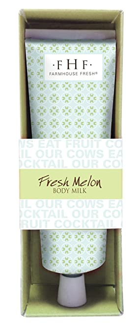 Farmhouse Fresh Fresh Melon Body Milk Travel Tube
