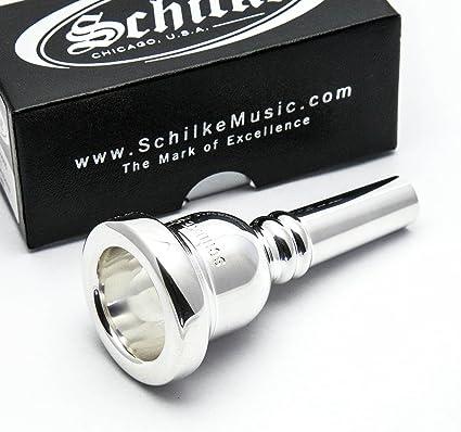 Schilke Gold Rim /& Cup Trombone 52 Large Shank Mouthpiece Euphonium//Baritone