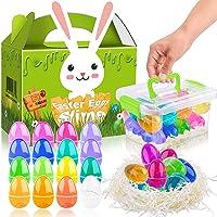 M Mooham Slime Egg Easter Basket Stuffer Kit