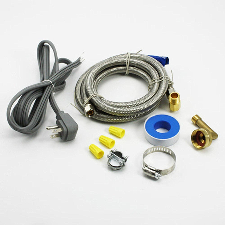 Universal Dishwasher Installation Kit 6572 For GE Frigidaire Whirlpool Maytag LG (Original Version)
