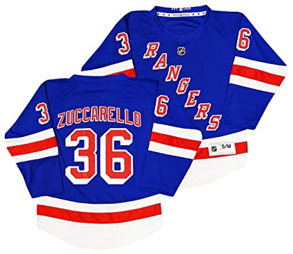 Outerstuff Mats Zuccarello New York Rangers  36 Youth Blue Home Replica  Jersey (Small  808df3663