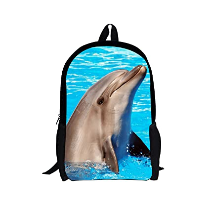 d904d733db4e Amazon.com | Horeset Backpack Animal Print School Rucksack College ...