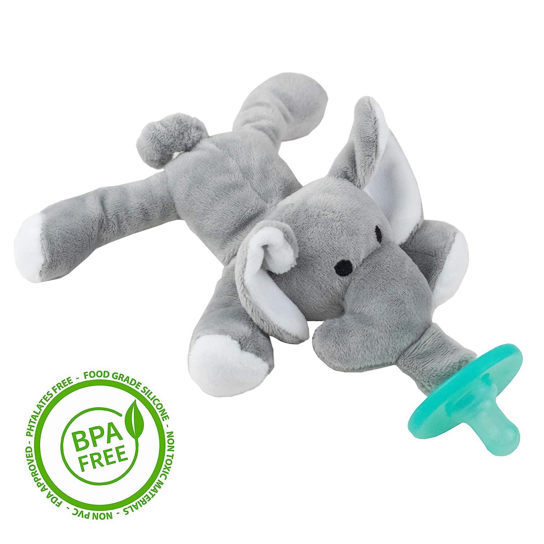 454b7f1a9 Elephant Animal Dummy Pacifier Toy