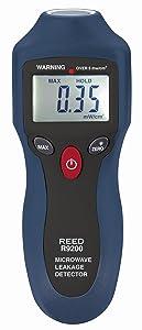 REED Instruments R9200 Microwave Leakage Detector Range:0-9.99 mW/sq cm, Accuracy:+/-1mW/sq cm
