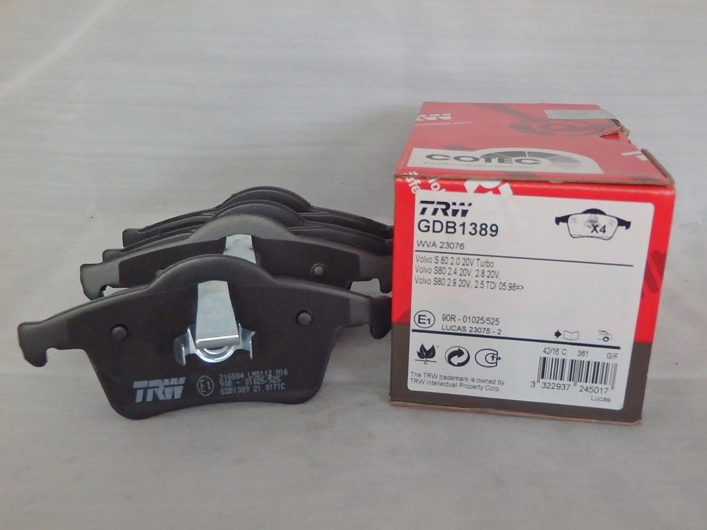 TRW Automotive AfterMarket GDB1389 pastilla de freno