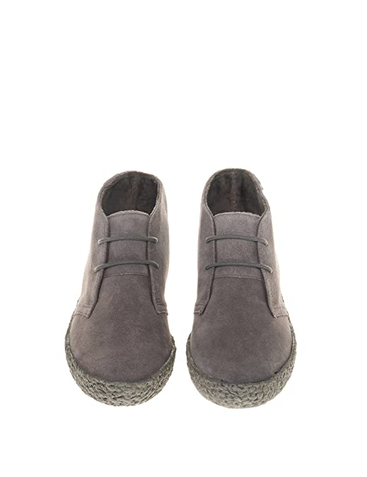 14d4af1feca42 SUPERGA Men s 2798 Suem Booties with Lace Grey in Size 44  Amazon.fr   Chaussures et Sacs