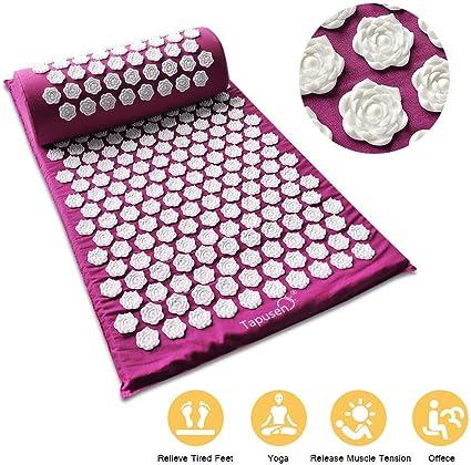 Tapis D Acupuncture Lotus Massage Tapis D Acupression Kit Tapis De
