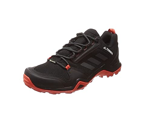 adidas Herren Terrex Ax3 GTX Walkingschuhe, schwarz, 50.7 EU