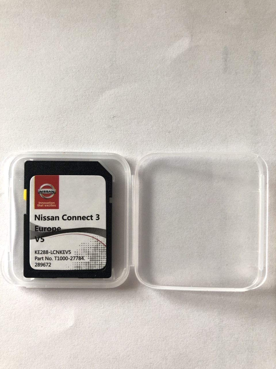 Scheda SD GPS Nissan Connect 3 Europe V5
