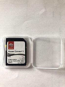 Tarjeta SD GPS Nissan Connect 3 Europe V5: Amazon.es: Electrónica