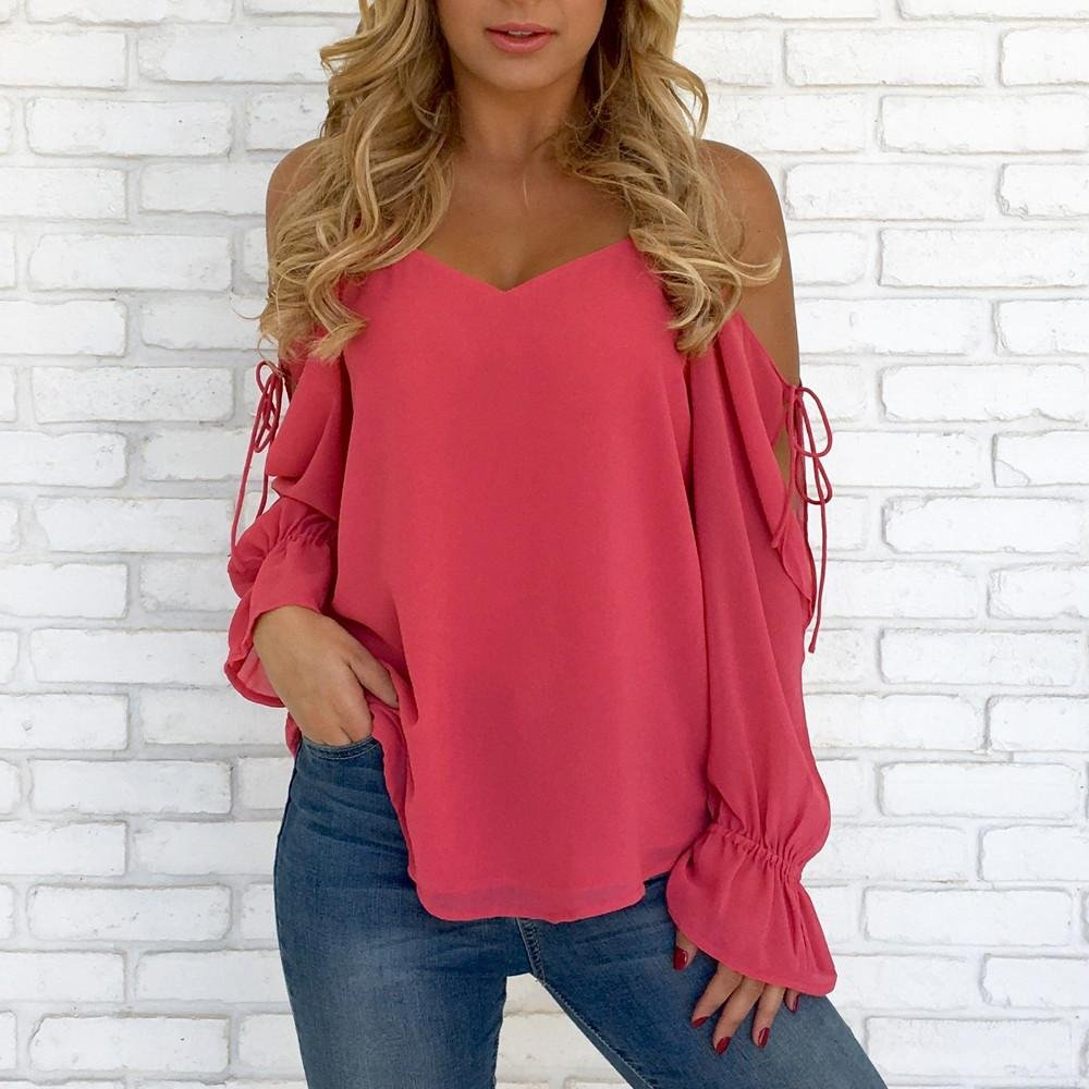 46cf8933f1de1c Women Blouse T-Shirt Tops Large Size Blouse New Look Retro Geometry Sexy  Teen Girls Blouses Ribbed Casual Bohemia CurveAppeal Blouse 2018 Plus Size  T-Shirt ...