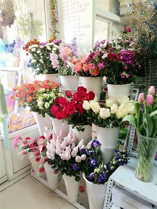 Amazon.com: Estante de flores de múltiples capas para ...