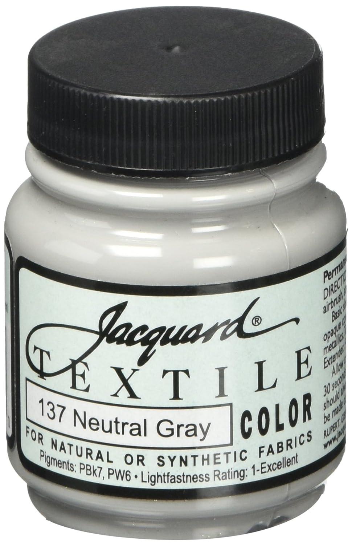 B00C3PGN8I Jacquard Textile Color Fabric Paint 2.25 Ounces-Neutral Gray 71wGNP7GbqL