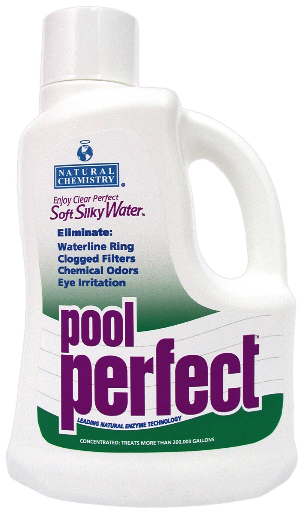 Natural Chemistry 3121 Pool Perfect Concentrate Pool Water Cleaner, 3-Liter