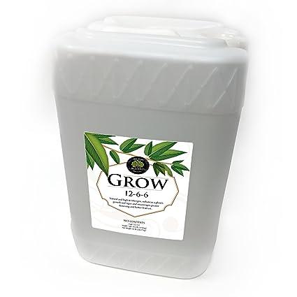Age Old Grow Natural Based Liquid Fertilizer, 6-Gallon
