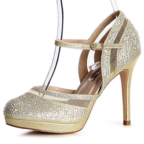 topschuhe24 - Zapatos de vestir de otros para mujer, color negro, talla 41 EU