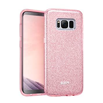 coque samsung s8 or rose