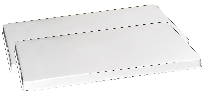 Reston Lloyd Rectangular Stove Burner Covers, Set of 2, White