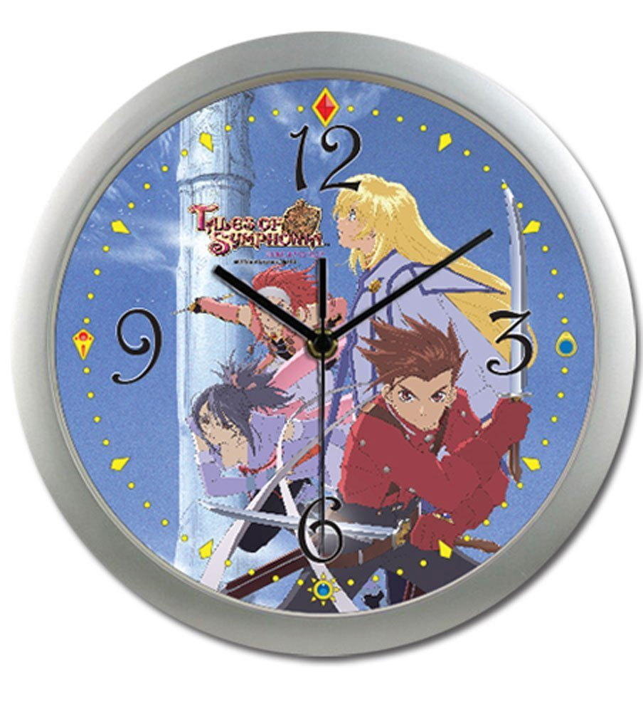 Tales Of Symphonia - Gc Keyart Wall Clock by GE Animation (Image #1)