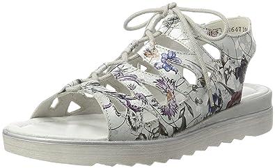 Womens D1150 Wedge Heels Sandals, Multicoloured Remonte
