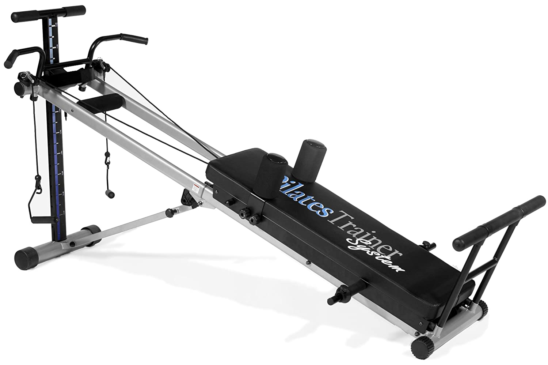 Amazon.com : Bayou Fitness Total Trainer Pilates Reformer Home Gym System  PilatesSys : Sports & Outdoors