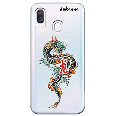 coque samsung a40 dragon