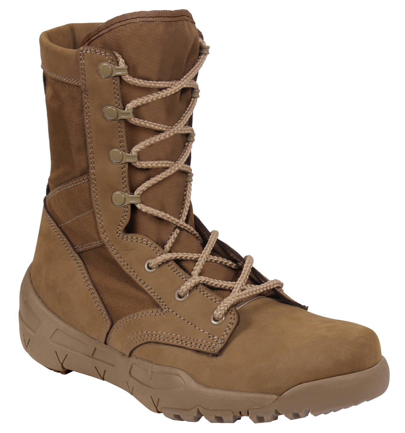 Rothco V-Max Lightweight Tactical Boot, AR 670-1 Coyote Brown, 9 by Rothco