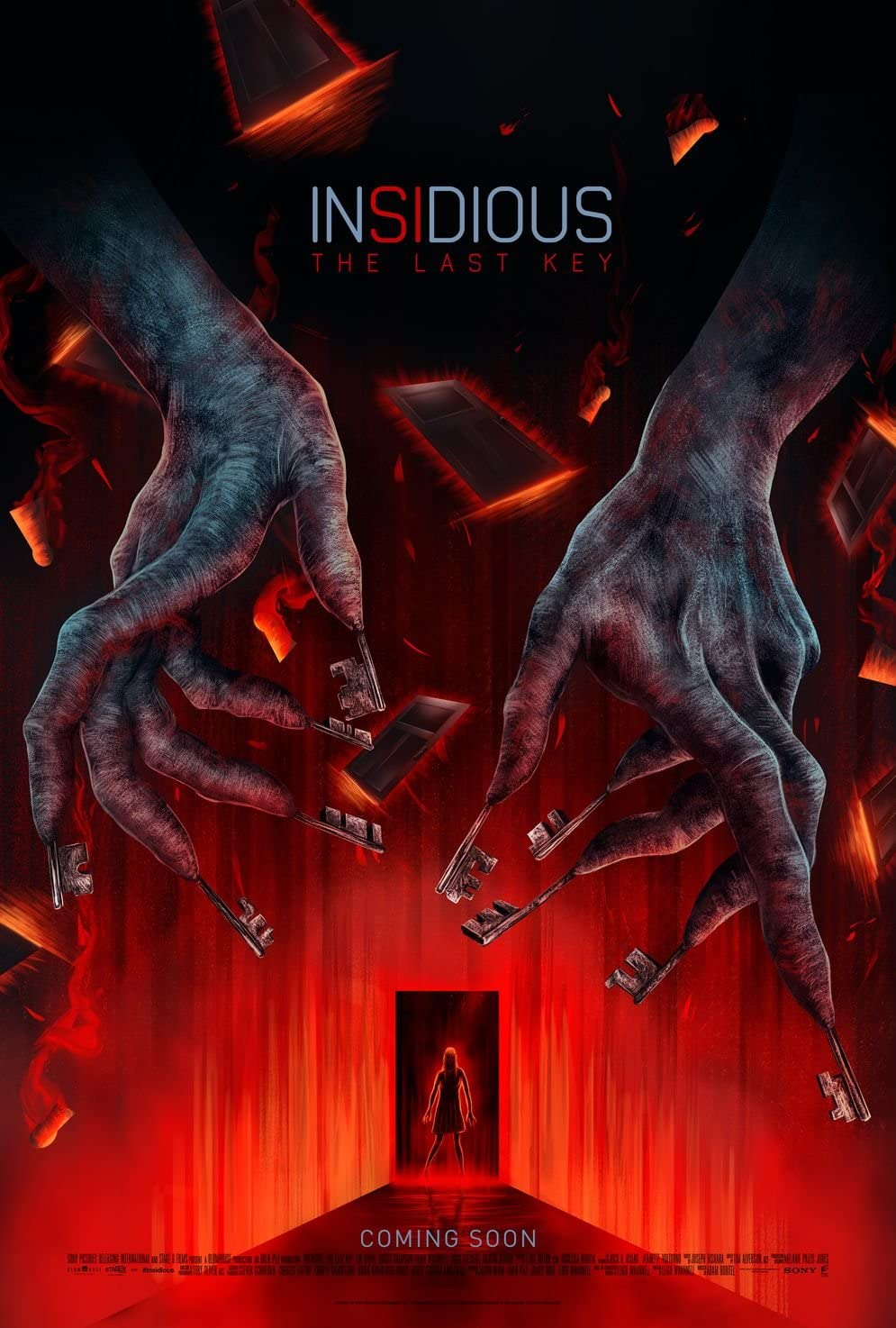 Insidious The Last Key Movie Poster 18 x 28 Inches