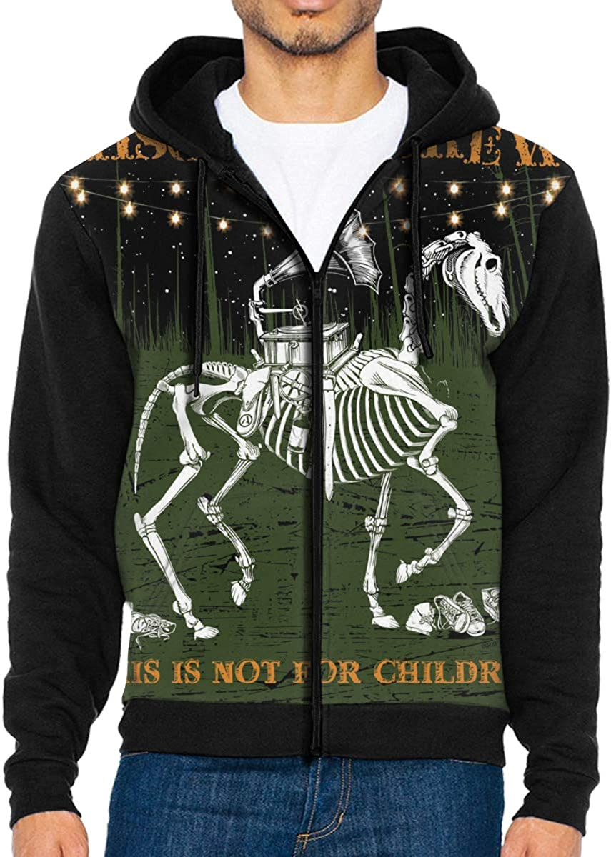 Takeyia Full-Zip Classic Hood Hooded Sweater Mischief Brew Album CoverSweater for Man