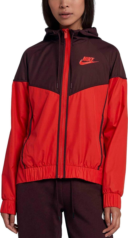 mil Parecer Elegante  Amazon.com : NIKE Women's Sportswear Windrunner Jacket (Habanero Red/Black,  X-Small) : Clothing