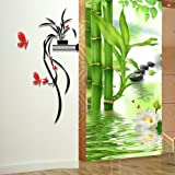3d Flower Mirror Wall Sticker Acrylic Wall Decals Home Decoration