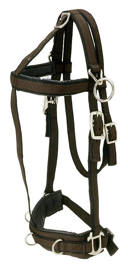 Tough 1 Performers 1st Choice Pro Nylon Training Horse Halter Horse