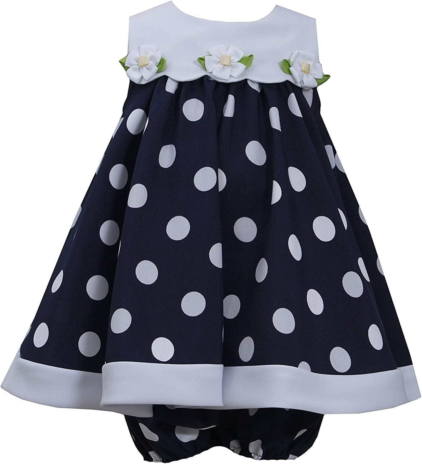 Details about  /NWT Gymboree Marina Party Navy Blue Rosette Dress 12 18 24M 4T Toddler Girls