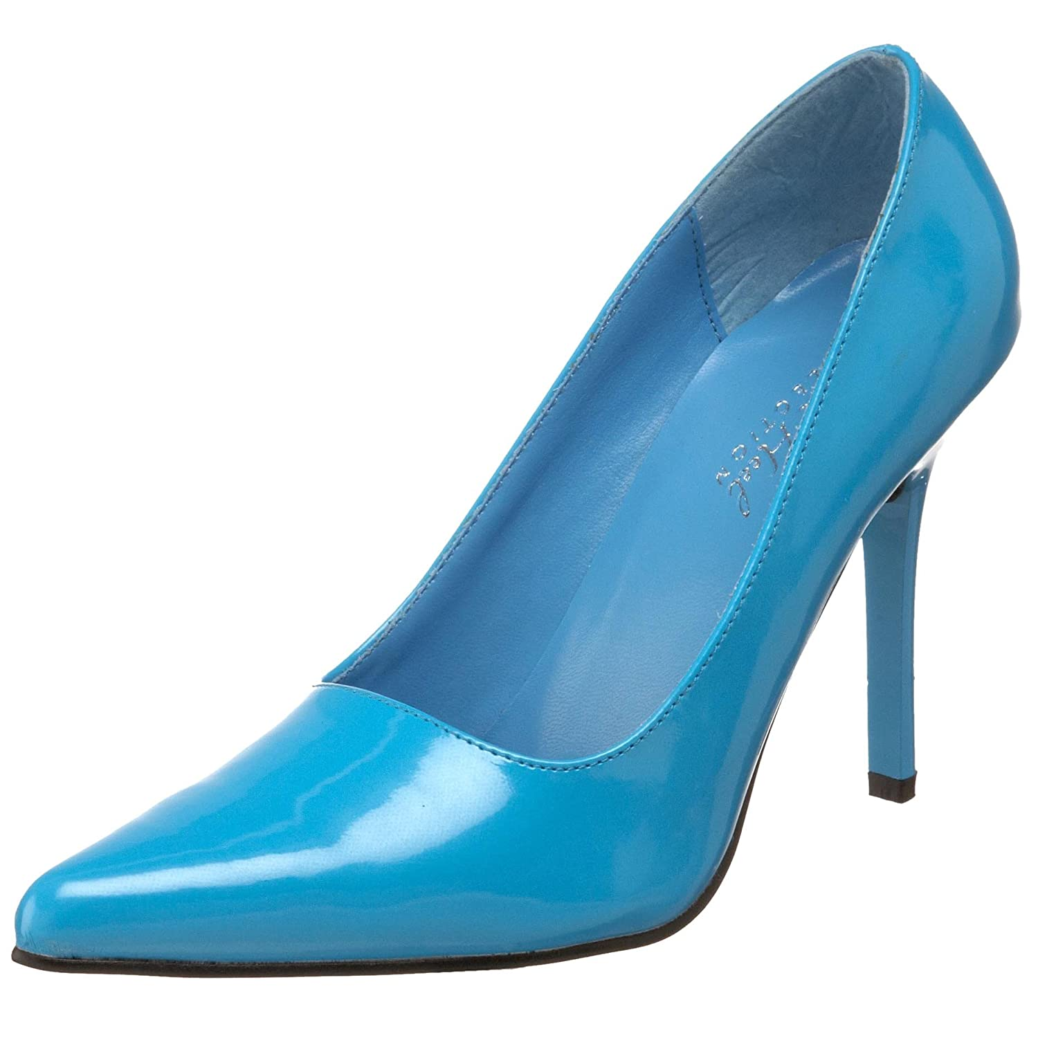 The Highest Heel Women's Classic Pump B000T86MSW 7.5 B(M) US|Turquoise Patent Polyurethane