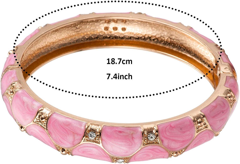 Vintage cloisonn\u00e9 panel link bracelet Gorgeous fish design One-off hand made