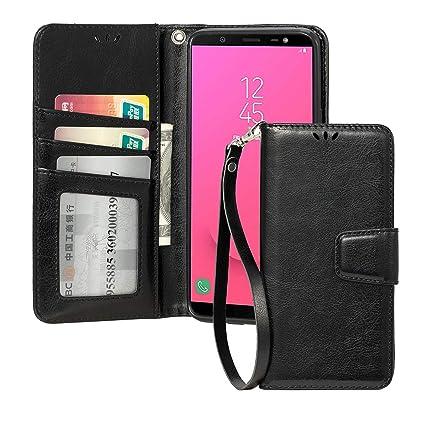 Amazon.com: Funda tipo cartera para Samsung J8 con carcasa ...