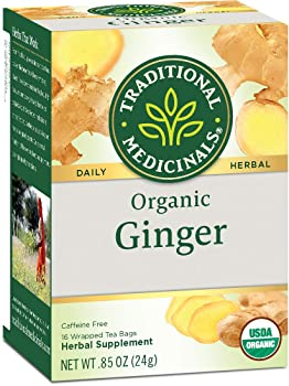TRADITIONAL MEDICINALS 16 Bags Herbal Ginger Tea