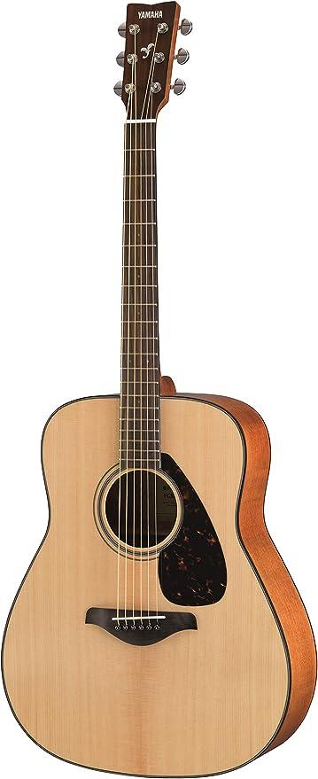 Yamaha FG800M Guitarra Acústica - Guitarra Western estándar con ...
